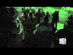 Police Wrestle With Protestors In Ferguson *Explicit Content*
