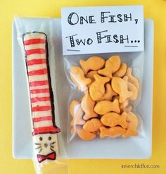 Dr. Seuss Snacks- string cheese only food.innerchildfun.com/ food.innerchildfun.com