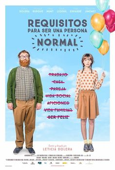 Requisitos para ser una persona normal - Unemployed and aimless, eccentric Mar?a strikes a bargain with jolly Borja: She'll help him lose weight if he'll help her become more conventional. Film Movie, Hd Movies, Movies Online, Movies And Tv Shows, Films, Indie Movies, Local Movies, Foreign Movies, Normal Person