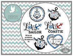 Navy Coast Guard Anchor Military Designs Proud by lyricalletters