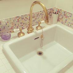 造作洗面台で自分好みのバスルームを実現。ポイントと実例をご紹介 | iemo[イエモ]