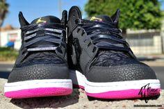 Air Jordan 1 Phat Girls: Black – Desert Pink   Jordans Daily