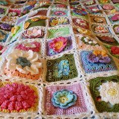 The Spring Flower Blanket
