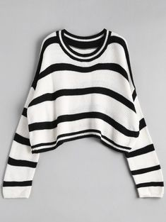 GET $50 NOW | Join Zaful: Get YOUR $50 NOW!https://m.zaful.com/crew-neck-stripe-cropped-sweater-p_373642.html?seid=5826281zf373642