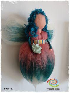 needle felting fairy by Terra de Cores