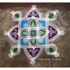 Padi Kolam, Floor Art, Simple Rangoli, Bling, Accessories, Recipe, Jewel, Recipes, Medical Prescription