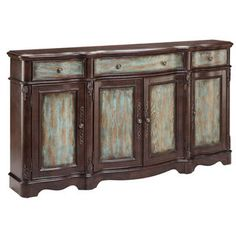 Shop for Laurie Distressed Veneer Sideboard Cabinet. Get free shipping at Overstock.com - Your Online Furniture Outlet Store! Get 5% in rewards with Club O!