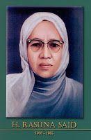 gambar-foto pahlawan nasional indonesia, Hj. Rasuna Said