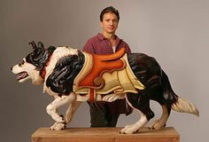 The Pet Blog: The Art of Carousel Dogs - these are beautiful!