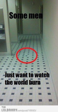 I would have to either rip of the freaking floor and replace it or put a rug over it.  That would drive me nuts!