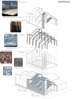 Section Drawing Architecture, Architecture Site Plan, Architecture Presentation Board, Architecture Panel, Architecture Portfolio, Architecture Details, Design Portfolio Layout, Layout Design, Modern Tropical House
