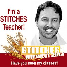 See you in Chicago! Teaching at STITCHES Midwest!