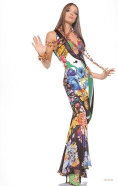 Miami Collection | Gianni Versace Lookbook NR. 24 | RTW S/S 1993 — with Angelika Kallio.