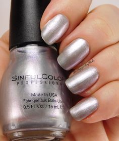 Sinful Colors Touch of Class   Be Happy And Buy Polish http://behappyandbuypolish.com/2016/02/04/sinful-colors-touch-of-class-velvet-ribbon-swatches-review/