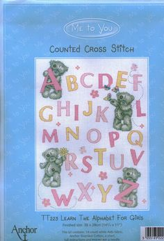 Para los peques... en punto de cruz (pág. 619) | Aprender manualidades es facilisimo.com