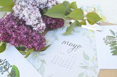 DESCARGABLE CALENDARIO Y PLANIFICADOR DE MAYO - ALL YOUR SITES Mayo, Place Cards, Place Card Holders, Calendar