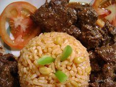 La forma mas común de cocinar la carne de res en la República Dominicana es guisada. La carne guisada se puede acompañar con moro, ens...