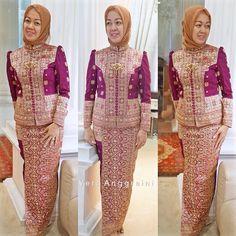 """#partydress #songket #palembang #beads #verakebaya ❤️"""""""