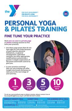 Yoga For You, Pilates Training, Flyer Design, Campaign, Graphics, Workout, Brochure Design, Graphic Design, Work Outs
