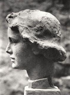 georg kolbe sculpture of woman's head Sculpture Head, Pottery Sculpture, Bronze Sculpture, Terracota, Art Model, Ancient Art, Figurative Art, Sculpting, Gypsum