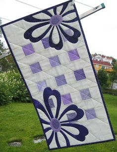 Anne-Grethes quiltblog: Lilla / Lilac