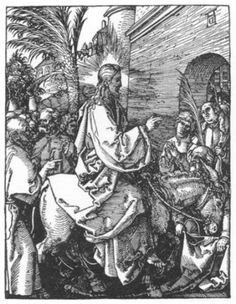 Christ's Entry into Jerusalem by Albrecht Durer