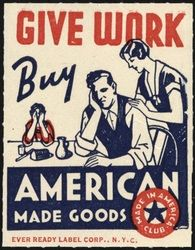 A PSA urging everyone to support products made right here in the USA. Here at Chipp'd we love these vintage poster styles.