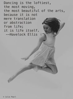 This dance quote is so inspirational and so true to the theme of the High Strung Movie.