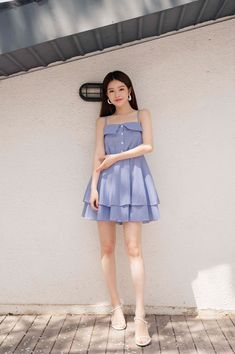 Shop feminine, adorable & ladylike Korean clothing at CHLO. Find out items ranging from dresses, tops to bottoms that will let out an instant charm. Casual College Outfits, Stylish Outfits, Fashion Outfits, Womens Fashion, Daily Fashion, Fashion Beauty, Cute Korean Fashion, Ulzzang Fashion, Lace Collar