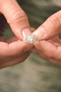 The ring you will be proud to pass down for generations.  Design your own engagement rings @JamesAllenRings Item #17098W14