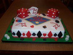 Casino Birthday Cakes | Gambling/Casino Cake - by simplycakesbynona @ CakesDecor.com - cake ...