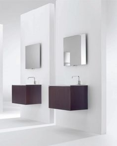 Awesome Minimalist Functional Bathroom Furniture – Flow and Soft from Cosmic : Awesome Minimalist Functional Bathroom Furniture – Flow And Soft From Cosmic With Modern Vanity And Wall Mirror Design