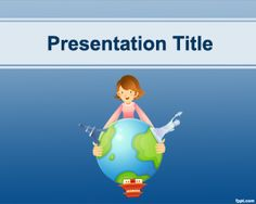 Muscle training powerpoint template is a free bodybuilding travel destinations powerpoint template is a simple blue and free powerpoint template for your presentations toneelgroepblik Images