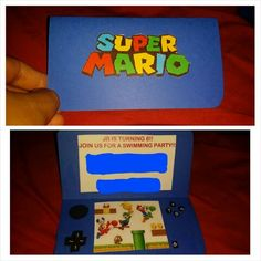 mario brothers valentine box