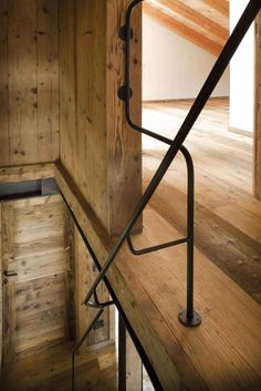 Image 20 of 34 from gallery of Alpine Barn / EXiT architetti associati. Photograph by EXiT architetti associati Architecture Design, Contemporary Architecture, Materials And Structures, Chalet Interior, Interior Design, Light Colored Wood, Wooden Barn, Wood Interiors, Design Blog