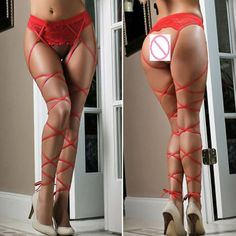New Women Sexy Lace Siamese Socks Top Thigh-Highs Stockings Sock Suspender Garter Belt Female Pantyhose Exotic Appare Lingerie H