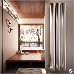 Besonderer Design Heizkörper Moreno aus Aluminium von  SEBASTIAN e.K. #designheizkörper