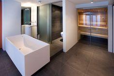 Op maat gemaakte sauna voor de badkamer van Cerdic
