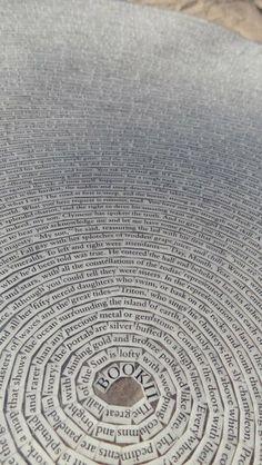 visual-poetry: »metamorphoses book II« bycheryl sorg