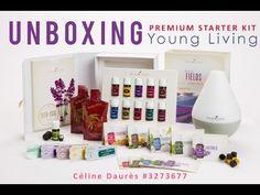 Unboxing mon Premium Starter Kit de Young Living #youngliving #huilesessentielles