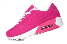 Online To Buy Air Max 90 Hyperfuse Womens Shoes Red White 01 1
