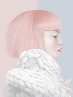 Hsiao-Ron Cheng is a Taiwanese digital artist and illustrator. Working as a freelance illustrator since she quickly get international attention. Illustration Sketches, Digital Illustration, Illustration Fashion, Animal Illustrations, Portrait Illustration, Fashion Illustrations, Botanical Illustration, Illustrations Posters, Arte Pop