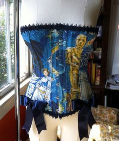 OMG- Star Wars Corset OOAK Upcycled, via Etsy.