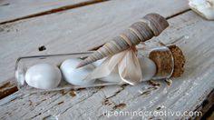 Il Pennino Creativo: Bomboniere con le conchiglie per una cerimonia marinara!