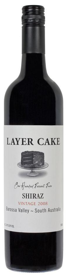 SHIRAZ 2008 - Great inexpensive wine - life is like a Layer Cake.