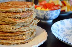 pancakes owsiano-żytnie