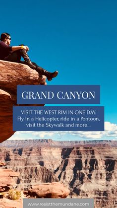 Take a semi-luxury private day trip to the Grand Canyon by private plane. Ride in a helicopter down to the river. Pontoon on the waters, hike on the West Rim and much more! Sedona To Grand Canyon, Grand Canyon West Rim, Visiting The Grand Canyon, Grand Canyon National Park, Us National Parks, Usa Travel Guide, Travel Usa, Travel Guides, Travel Tips