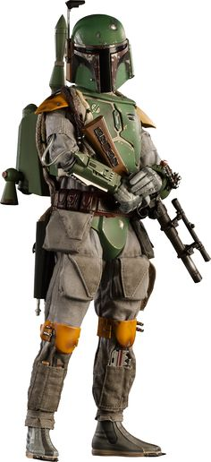Star Wars Boba Fett Sixth Scale Figure by Sideshow Collectibles Jango Fett, Star Wars Boba Fett, Boba Fett Art, Star Wars History, Mandalorian Cosplay, Star Wars Personajes, Star Wars Halloween, Star Wars Episode Iv, Star Wars Pictures