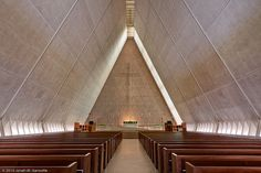 Kramer Chapel in Fort Wayne, Indiana. Architect: Eero Saarinen.