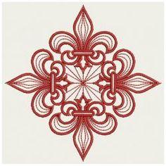 Fleur De Lis 01(Md) machine embroidery designs